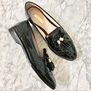 Louise et Cie Joey Patent Leather Tassel Loafer 8